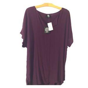 NWT Bobeau purple top